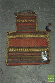 Sale 8398 - Lot 1071 - Persian Salt Bag (80 x 60cm)