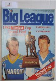 Sale 8404S - Lot 11 - 1984 Big League Grand Final Programme, Sept 23 (Vol.65, No.30), Parramatta v Canterbury