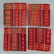 Sale 8472C - Lot 49 - 4 x Afghan Cushion Covers 40cm x 40cm
