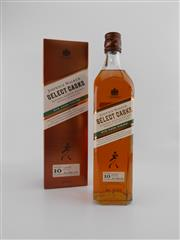 Sale 8498 - Lot 1749 - 1x Johnnie Walker 10YO Select Casks Blended Scotch Whisky - 700ml in box