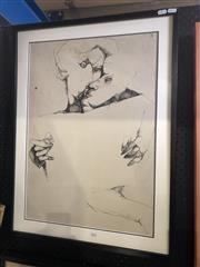 Sale 8833 - Lot 2070 - Alessandro Kokocinski (1948 - 2017) - Untitled (Lovers) frame size: 76 x 57cm