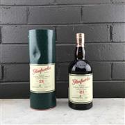 Sale 8970 - Lot 652 - 1x Glenfarclas 21YO Single Highland Malt Scotch Whisky - 43% ABV, 700ml in canister
