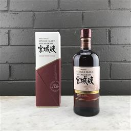 Sale 9120W - Lot 1415 - Nikka Whisky 'Miyagikyo' Sherry Wood Finish Single Malt Japanese Whisky - bottled 2018, 46% ABV, 700ml in box