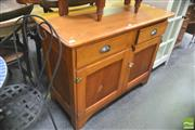 Sale 8418 - Lot 1043 - Buffet w 2 Doors & Drawers