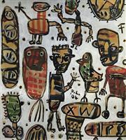 Sale 8715A - Lot 5012 - David Larwill (1956 - 2011) - Untitled 113 x 92cm