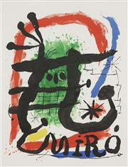 Sale 8764A - Lot 5014 - Joan Miro (1893 - 1983) - Miro 65 x 50cm