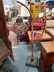 Sale 8822 - Lot 1134 - Wicker Floor Lamp