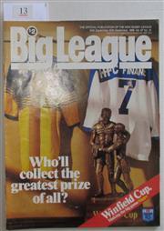 Sale 8404S - Lot 13 - 1986 Big League Grand Final Programme, Sept 30 (Vol.67, No.31), Parramatta v Canterbury