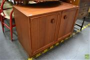 Sale 8480 - Lot 1107 - Small Parker Two Door Cabinet