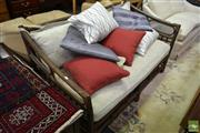 Sale 8515 - Lot 1093 - Bamboo 2 Seater Lounge