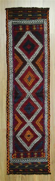 Sale 8585C - Lot 69 - Afghan Kilim 217cm x 56cm