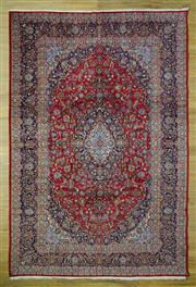 Sale 8589C - Lot 3 - Persian Kashan, 390x265