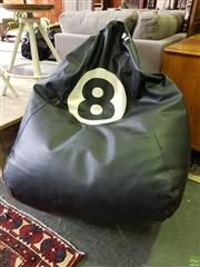 Sale 8601 - Lot 1182 - Eight Ball Bean Bag