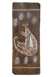 Sale 8708A - Lot 575 - Artist Unknown - Kangaroo 68.5 x 26.5cm