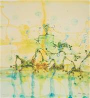 Sale 8901A - Lot 5034 - John Olsen (1928 - ) - Morning at the Lily Pond, 2014 85.3 x 80 cm