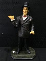 Sale 9026 - Lot 1010 - Composite Figure of Lou Costello (H:63cm)