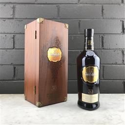Sale 9089W - Lot 38 - Glenfiddich 30YO Single Malt Scotch Whisky - cask selection no. 00032, bottle 3079, 43% ABV, 700ml in timber presentation box