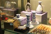 Sale 8360 - Lot 83 - Wedgwood Wares incl Jasper candlesticks & Glass Paperweight