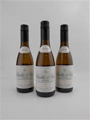 Sale 8514 - Lot 1798 - 3x 2014 Denis Pommier Beauroy, Premier Cru, Chablis - 375ml half-bottles