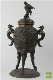 Sale 8533 - Lot 37 - Fine Quality Bronze Urn