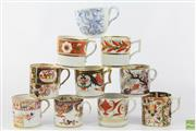 Sale 8599 - Lot 20 - Collection Of Mostly 19th Century Teacups