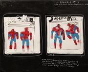 Sale 8642 - Lot 518 - Anthony Lister (1980 - ) - Super is as Spider does, 2004 75 x 90cm