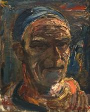 Sale 8692 - Lot 574 - Harald Vike (1906 - 1987) - Self Portrait, c1930 34.5 x 27cm