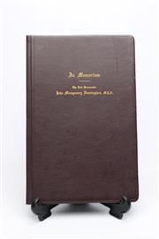 Sale 8733 - Lot 37 - Order of Service Signed by Bertram Stevens