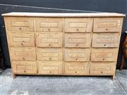 Sale 8724 - Lot 1004 - Large Rustic Pigeon Hole Unit