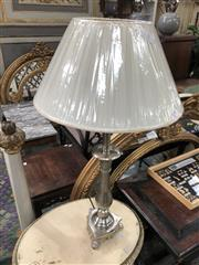 Sale 8822 - Lot 1845 - Pair of English Baroque Antique Style Table Lamps (5732P)
