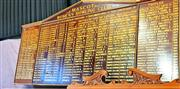 Sale 8868 - Lot 1517 - Mascot Womens Bowling Club Honours Board