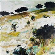 Sale 8938A - Lot 5012 - Cheryl Cusick - Landforms 100 x 100 cm (total: 100 x 100 x 4 cm)