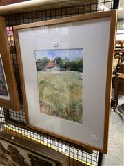Sale 8906 - Lot 2022 - Eleanor Eakins - Berrimawatercolour, 57 x 47cm (frame), signed