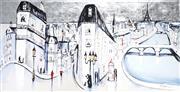 Sale 9034A - Lot 5005 - Mark Hanham (1978 - ) - La Paris 100 x 199 cm (stretched and ready to hang)