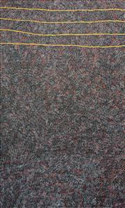 Sale 8288A - Lot 73 - Kathleen Petyarre (1930 - ) - Bush Seed, c.2008 162 x 98cm (framed & ready to hang)