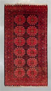 Sale 8472C - Lot 53 - Vintage Afghan Qunduzi 205cm x 105cm