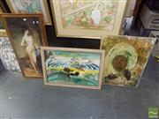 Sale 8483 - Lot 2027 - Collection of Prints and Pictures