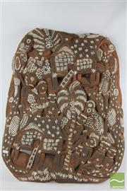 Sale 8521 - Lot 34 - Carved New Guinea Panel