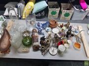 Sale 8582 - Lot 2479 - Miscellaneous Wares incl Avon Oland Pheasant Aftershave, Buddhas etc