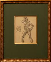 Sale 8655 - Lot 2059 - Artist Unknown (European School) - Figure Studies, 1912 21 x 16.5cm