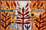 Sale 8715A - Lot 5015 - John Coburn (1925 - 2006) - Resurrection, 1988 55 x 74.5cm