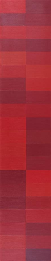 Sale 8839A - Lot 5004 - Claudia Abrahams (1973 - ) - 40 Shades of Sunset, 2014 100 x 20cm