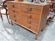 Sale 8863 - Lot 1046 - Vintage Chest of Eight Drawers