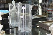 Sale 8360 - Lot 15 - Waterford Crystal Jug by Michael Aram
