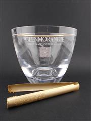 Sale 8498 - Lot 2059 - Glenmorangie Perspex Ice Bucket w Gilt-Metal Tongs