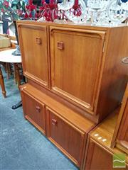 Sale 8480 - Lot 1098 - Pair of Parker 2 Door Cabinets