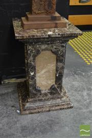 Sale 8515 - Lot 1001 - Marble Pedestal