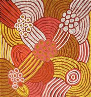 Sale 8624 - Lot 551 - Marlene Young Nungurrayi (1971 - ) - My Country 98 x 91cm