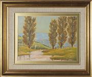 Sale 8828 - Lot 2030 - Leon Hanson (1918 - 2011) - Autumn in Lower Burragorang Valley 30 x 40cm