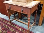 Sale 8777 - Lot 1082 - Single Drawer Hall Table